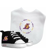 NBA Los Angeles Lakers Newborn Baby Bib and Pre-Walkers Set - $41.69