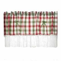 PANDA SUPERSTORE Lace/Grid Short Kitchen Curtain Half Window Curtain Cafe Curtai