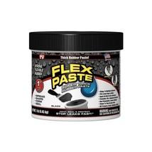 Flex Seal Flex Paste BLACK Super Thick Rubber Paste 1 lb Jar  - $33.99