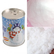 Instant Snow Magic Artificial Snow Powder Christmas Decoration Fake Whit... - £5.75 GBP