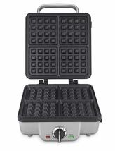 Belgian Waffle Maker with Pancake Plates. Nonstick Coated. Stainless Ste... - ₹6,386.63 INR