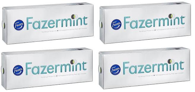 FAZER Fazermint Chocolates 4 x 350g Karl Fazer Finland