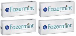 FAZER Fazermint Chocolates 4 x 350g Karl Fazer Finland - $34.64