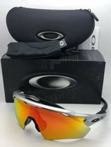New OAKLEY Sunglasses RADAR EV PATH OO9208-02 Silver-Black Frame w/ Fire... - $219.95