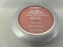 L'Oreal Paris True Match Super Blendable Blush Spiced Plum C7-8 Free Shipping - $14.99