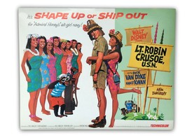 """Lt. Robin Crusoe"" Original 11x14 Authentic Lobby Card Poster Photo 1966... - $33.96"