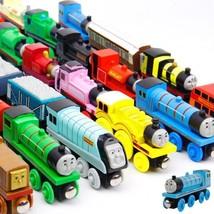 Thomas and Friends Anime Wooden Mini Toys Railway Trains Model Edw 12pcs/lot - $33.65