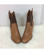 Jack Rogers Women's Two Toned MidCalf Boots Zipper Heeled Boots Size 10 - $42.03