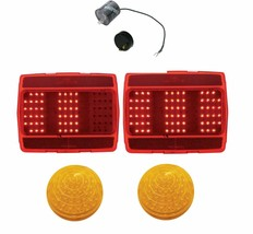 United Pacific LED Sequential Tail Light/Park Light Set 1964-1966 Ford M... - $173.23