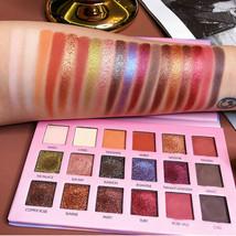 18 Colours Eye-Shadow Naked Eyeshadow-Shiny Smoky Eyeshadow-Palletes Pigment - $12.28