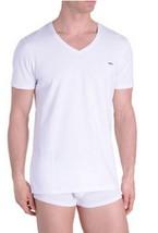 Diesel Men's Underwear, Michael V-Neck T-Shirt , White, Size S - $24.74