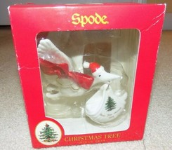 2008 Spode Baby's First Christmas Ornament Stork w/Baby (New in Box) - $14.84