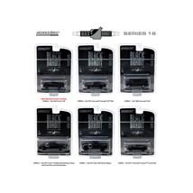 Black Bandit Series 16, 6pc set 1/64 Diecast Model Cars by Greenlight 27880 - $54.68