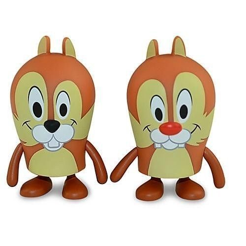 Disney Theme Park Exclusive Vinylmation Popcorn Series New Chip & Dale 2 Pack