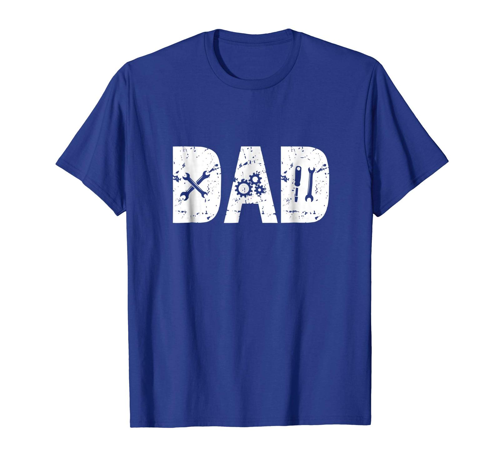 Dad Shirts - Funny Dad Gift Mechanic Shirts for Men Fathers Day 2018 Tee Men image 4