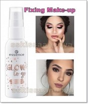 "Essence ""Glow to go'' Illuminating Setting Spray 50ml Fixing Make-up - $11.18"