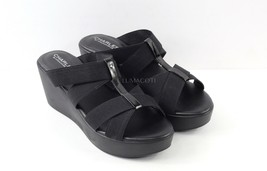 Charles by Charles David Jonas Wedge Slide Sandal - Black Size 9.5 - $39.99