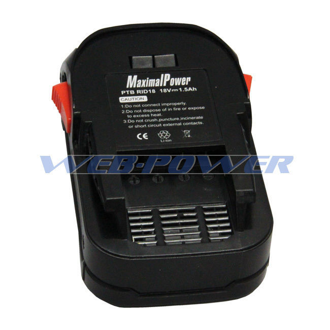 Power Tool Battery For 18V Ridgid AC840085 R840085 Hyper Lithium Ion 1500mAh  image 1