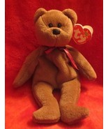 Ty Beanie Baby Teddy 4th Generation Hang Tag #4050 1995  PVC Filled - $5.34