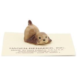 Hagen Renaker Miniature Dog Cocker Spaniel Puppy Playing Ceramic Figurine image 1