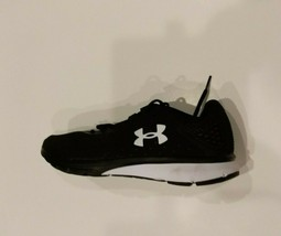 Under Armour Mens 10.5 UA Charged Black/White Speed Form Running 1298553... - $65.00