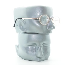 Simple Oval Gold Metal Wire Frame Square Bridge Reading Glasses +1.00 Lens image 2