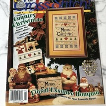 VTG Jan.1996 Cross Stitch Magazine 14 Designs Country Christmas Floral E... - $8.90