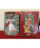 Barbie Coca Cola 2 Dolls After The Walk  2nd In Series 1997 and 2001 53... - $42.08