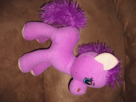 "Purple Horse Brand New Plush Stuffed Animal 12"" Sugar Loaf Super Cute! - $11.99"