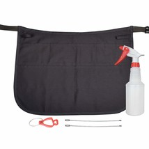 Professional Speed Cleaning Apron with 7 Pockets, Glove Holder, & Duster... - $25.96