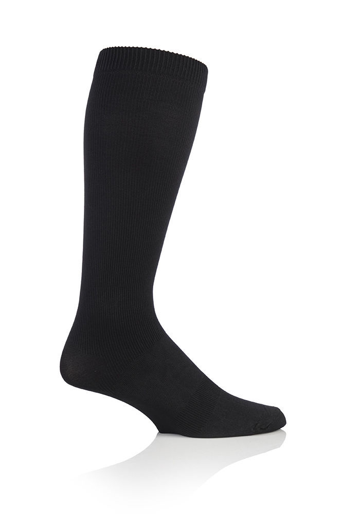 Calcetines hombre BigFoot Sockshop 14-18mmhg Tamaño 12-14UK 47-50eu Negros