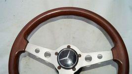1977 Mercedes W123 R107 W107 Grant Wood Steering + Hub image 3
