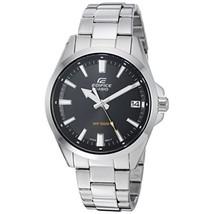 Casio Men's Edifice Quartz Watch with Stainless-Steel Strap EFV100D-1AV - $64.95