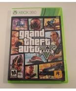 Grand Theft Auto V (Microsoft Xbox 360, 2013) Complete w/ Manual & Map - $19.79