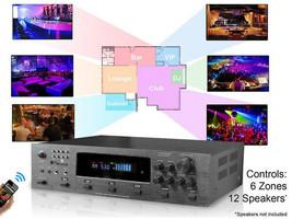 Technical Pro H12X500BT 6000w Amplifier / Preamp/ Tuner w/ 12 Speaker+Microphone image 2