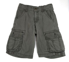 WRANGLER WRG JEANS CO Cargo Army Green Pockets Shorts 8 - $8.90