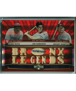 2011 Topps Triple Threads Babe Ruth/DiMaggio/Mantle Game-Used Card #/36 ... - $649.99