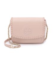 Tory Burch Marion Mini Cross Body Bag ($395)- Pink - ₨20,206.14 INR