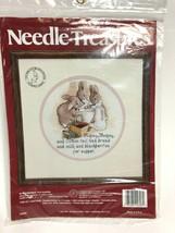 Blackberries For Supper Cross Stitch Kit Needle Treasures Organizer New Vtg - $19.79