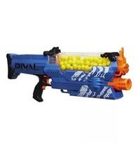 Nerf Rival Nemesis MXVII 10K Blaster New Motorized Toy Gun 100 Rounds Blue - $94.98