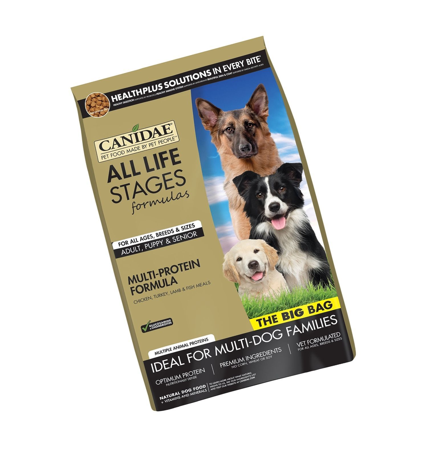 CANIDAE All Life Stages Dry Dog Food for Puppies, Adults & Seniors 44-Pound