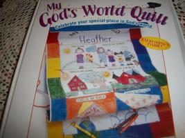 My God's World Quilt Kit - $14.00