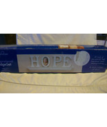 "INSPIRATIONAL LEDGE SET "" HOPE "" by INSPIRATIONS, BNIB - $18.56"