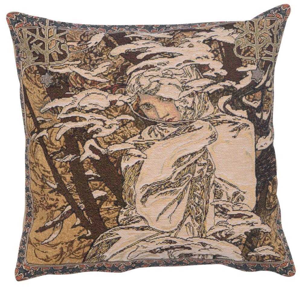Mucha Winter I European Cushion Covers