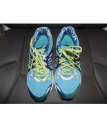 Asics Preleus Gel  Running Athletic Sneakers Blue T480Q Size 9.5 Women's... - $51.92