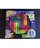 Mr. Sketch Scented Art Supplies W/Intergalactic Scents 37 Total Pieces NEW - $12.99