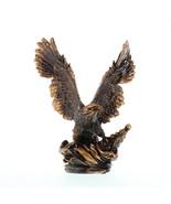 MAJESTIC EAGLE IN FLIGHT STATUE Bronze Finish - $29.95
