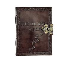 TUZECH Leather Writing Journal Notebook Classic Spiral Bound Notebook Re... - $13.72