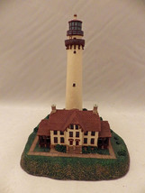 The Danbury Mint - Grosse Point - Historic American lighthouses - 1994 -... - $9.41