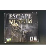 Gogii Games - Escape the Museum Jewel Case (Windows/Mac, 2010) - $8.40